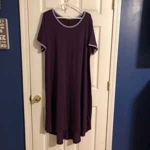 Purple and Lilac Lularoe Carly